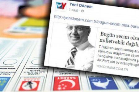 "BAYSAL YAZDI ""BURSA'DA MİLLETVEKİLİ KAÇ OLUR"""