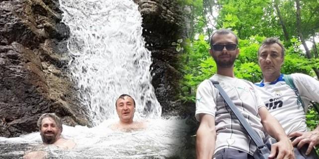 Kanyonun derin suları ziyaretçilerini bekliyor