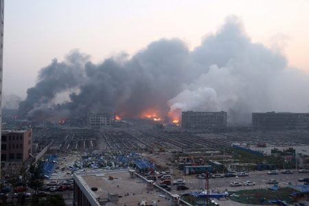 Tianjin blasts: Dozens dead; areas of Chinese port city devastated