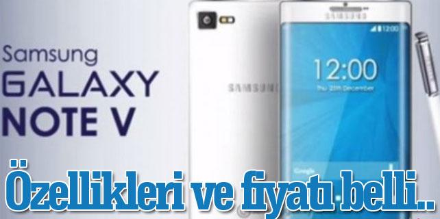 Samsung Galaxy Note 5 özellikleri ve Türkiye satış fiyatı ne kadar