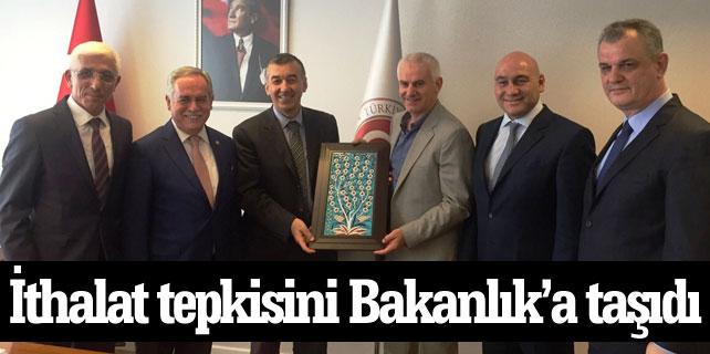 Marmarabirlik ithalat tepkisini Bakanlık'a taşıdı