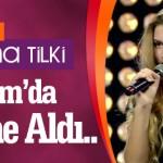 Genç yıldız Aleyna Tilki Bodrum Club Voyage'da sahne aldı