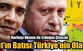 Fırat'ın Batısı Türkiye'nin Olacak, Haritayı Obama ile Erdoğan Çizecek