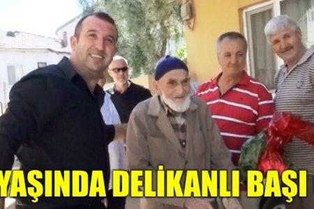 102 yaşında delikanlı başı oldu