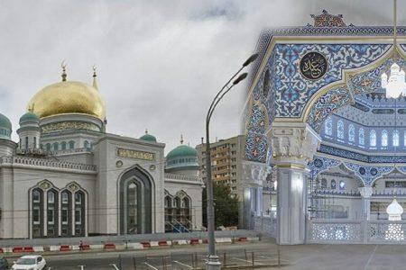 Moskova Merkez Camii'nde İznik çinisi