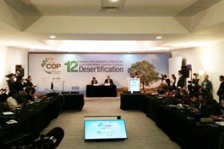 Çölleşmeyle mücadele konferansı