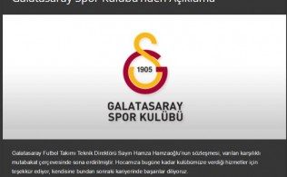 Galatasaray'da Şok Gelişme! Hamza Hamzaoğlu Galatasaray'dan Ayrıldı