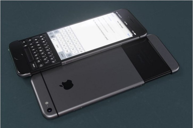 iPhone 7 hem fiziksel hem de dokunmatik klavyeli mi olacak!
