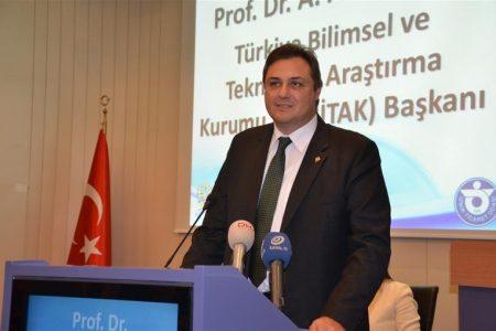 TÜBİTAK Başkanı Ahmet Arif Ergin: