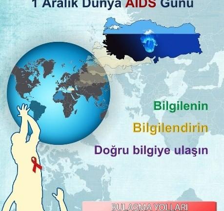 1 ARALIK DÜNYA AIDS GÜNÜ