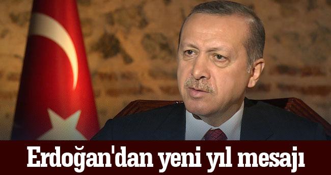 Cumhurbaşkanı Recep Tayyip Erdoğan Yeni Yıl Mesajı Yayınladı