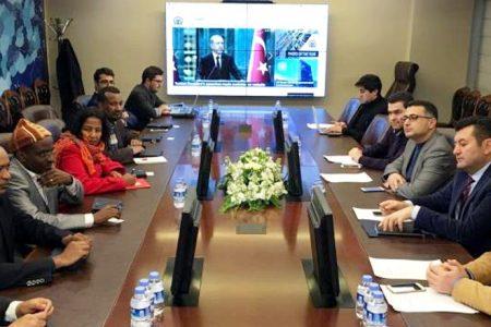 Etiyopya'lı gazeteciler Türkiye'de
