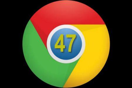 Google Chrome 47 yayınlandı! Chrome 47 indirin ve yenilikleri keşfetin!
