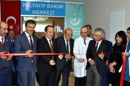 Palyatif merkezi açıldı