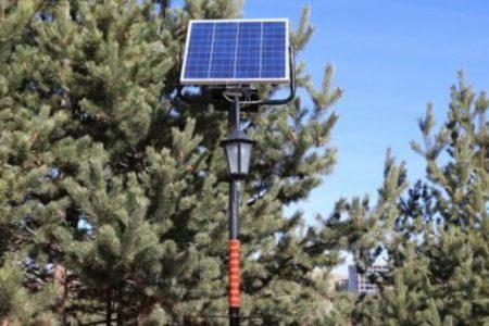 500 Liraya Güneş Enerjili Şarj İstasyonu Kurdular