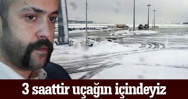 Uçakta Mahsur Kalan Sarp Akkaya Sosyal Medya'dan Neler Söyledi?