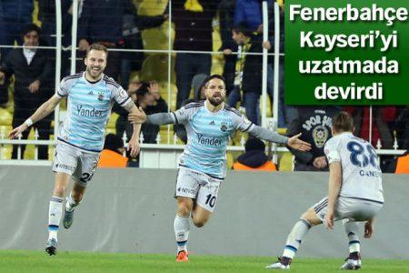 Ziraat Türkiye Kupası Yolunda Fenerbahçe