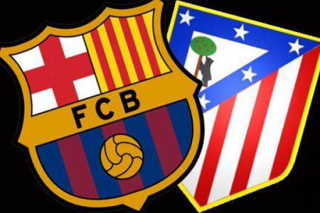 Barcelona , Atletico Madrid'i 2-1 Yenmeyi Başardı
