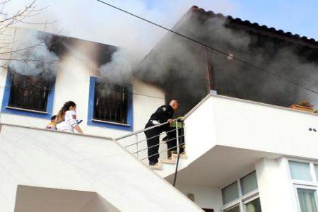 Avukat Bodrum'da Yaşadığı Evde Çıkan Yangında Öldü