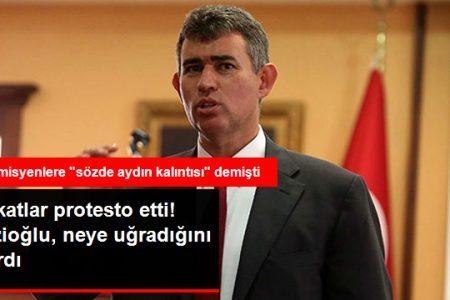 Metin Feyzioğlu 'na Avukatlardan Protesto