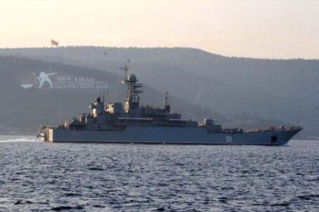 Çanakkale Boğazında Peşpeşe Geçen Rus Gemileri