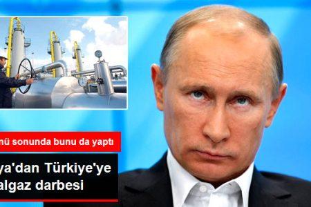 Gazprom Türkiye'ye Özel Yaptığı İndirimi İptal Etti