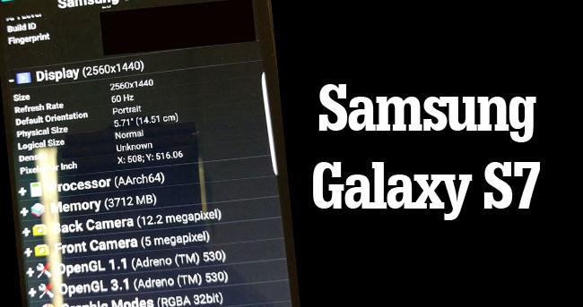 Samsung Galaxy S7'nin yeni bir özelliği daha bulundu