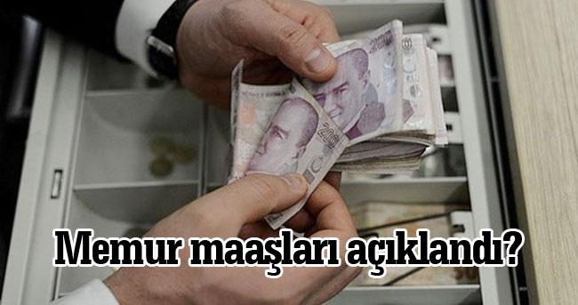 Memura zam müjdesi! Memurların zamlı maaşı bakın ne kadar oldu?