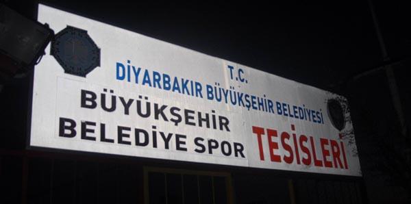 AMEDSPOR TESİSLERİNE POLİS BASKINI