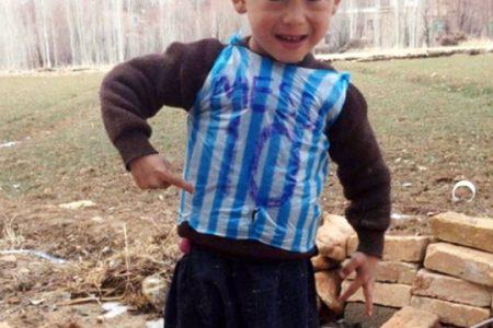 Messi 'den Küçük Afganistanlı Ahmadi 'ye Davet Geldi