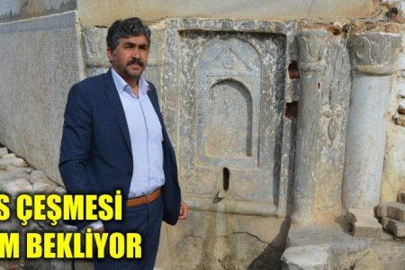 Bizans çeşmesi ilgi bekliyor