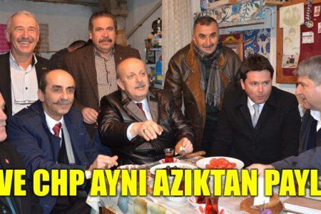 CHP ve AKP aynı azıktan paylaştı