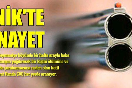 İZNİK'TE CİNAYET