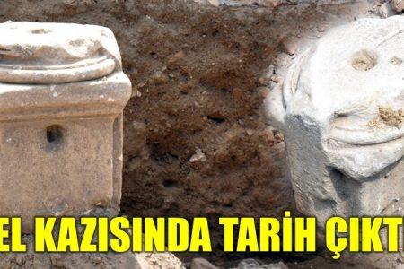 Temel kazısında tarih çıktı