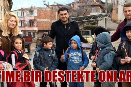 CHP'li gençlerden eğitime destek