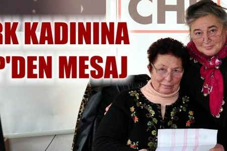 CHP'den Türk kadınına mesaj