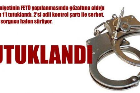 Biri tutuklandı 2'si serbest