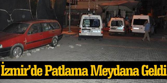 İzmir Bornova ilçesinde iki ayrı patlama meydana geldi