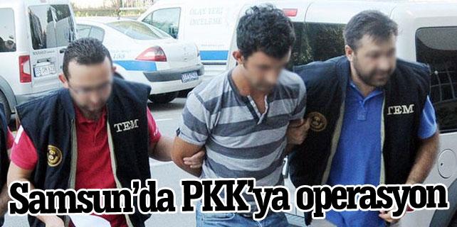 PKK'ya yönelik operasyon! Samsun'da 7 kişi gözaltına alındı